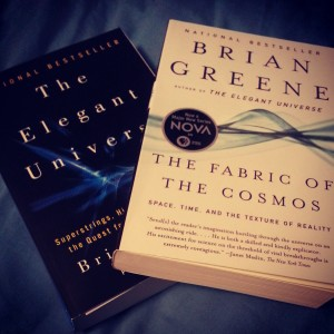 Exhibit A: Two books by Brian Greene