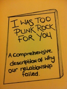 Too Punk Rock...