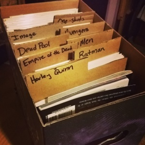 I'm gonna need a bigger box. And more dividers. And possibly a girlfriend...